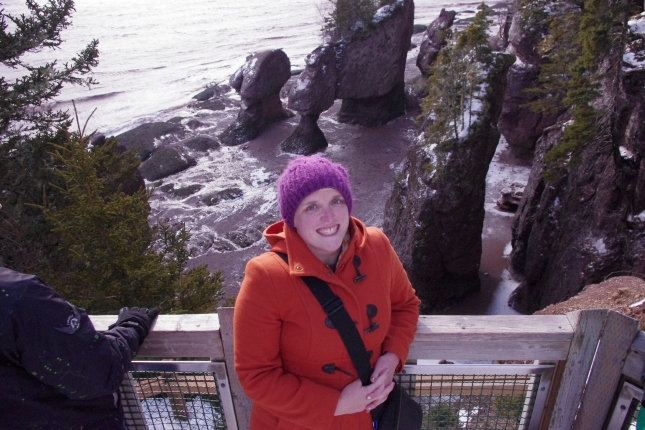Photos of me at Hopewell Rocks!